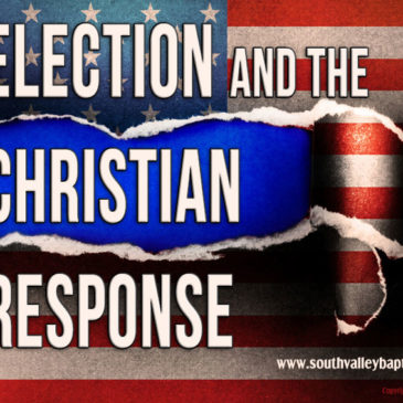 Election and the Christian Response