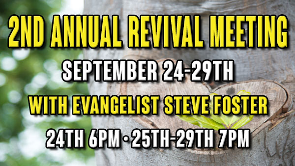 2nd Annual Revival Meeting